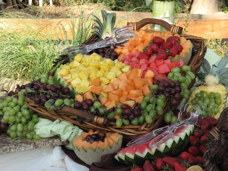 Foodesign Fresh Fruit Basket: Fresh Fruit Basket Display – Katering Koncepts