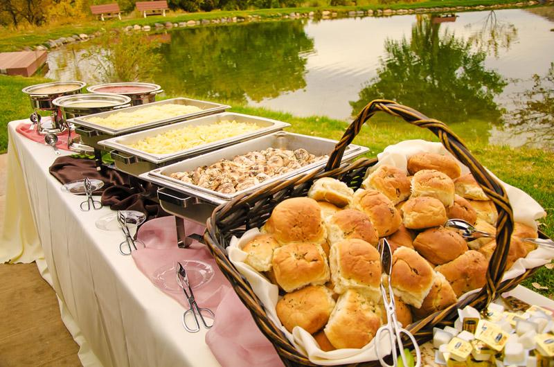 Wedding Buffet Italian Themed Feast